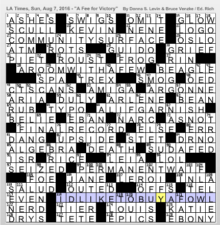 Latimes crossword corner donna s levin cc malvernweather Choice Image
