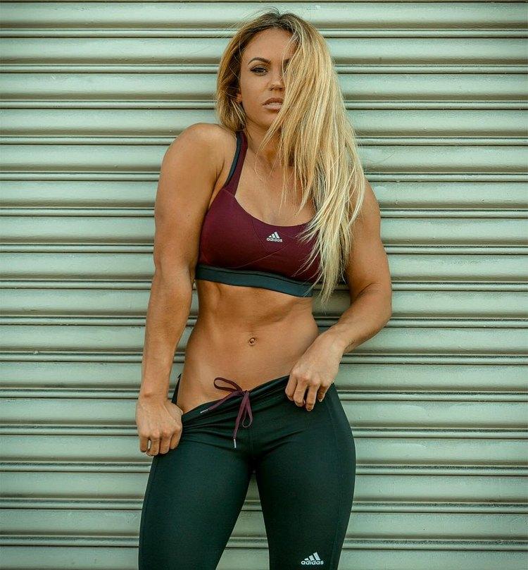 female fitness model Tamra Dae 1