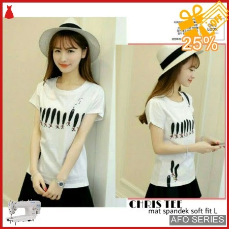 AFO619 Model Fashion Chris Tee Modis Murah BMGShop