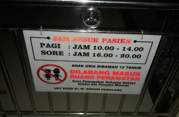 Jam Besuk Pasien di RSUD M Ashari Pemalang