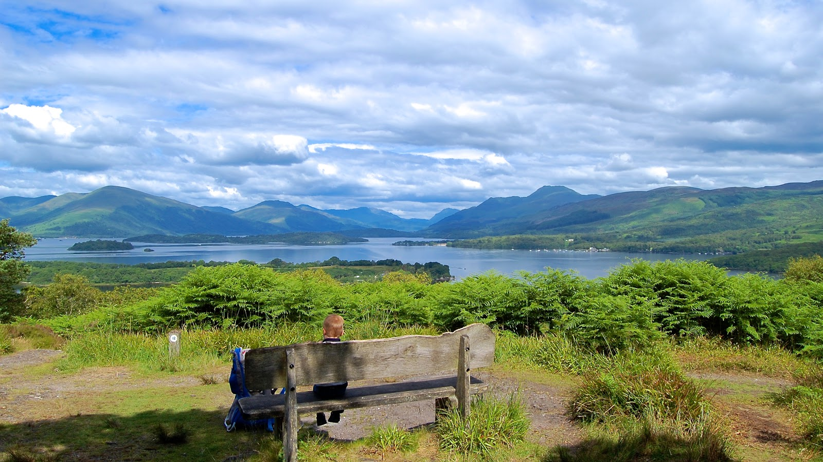 View of Loch Lomond from Inchcailloch