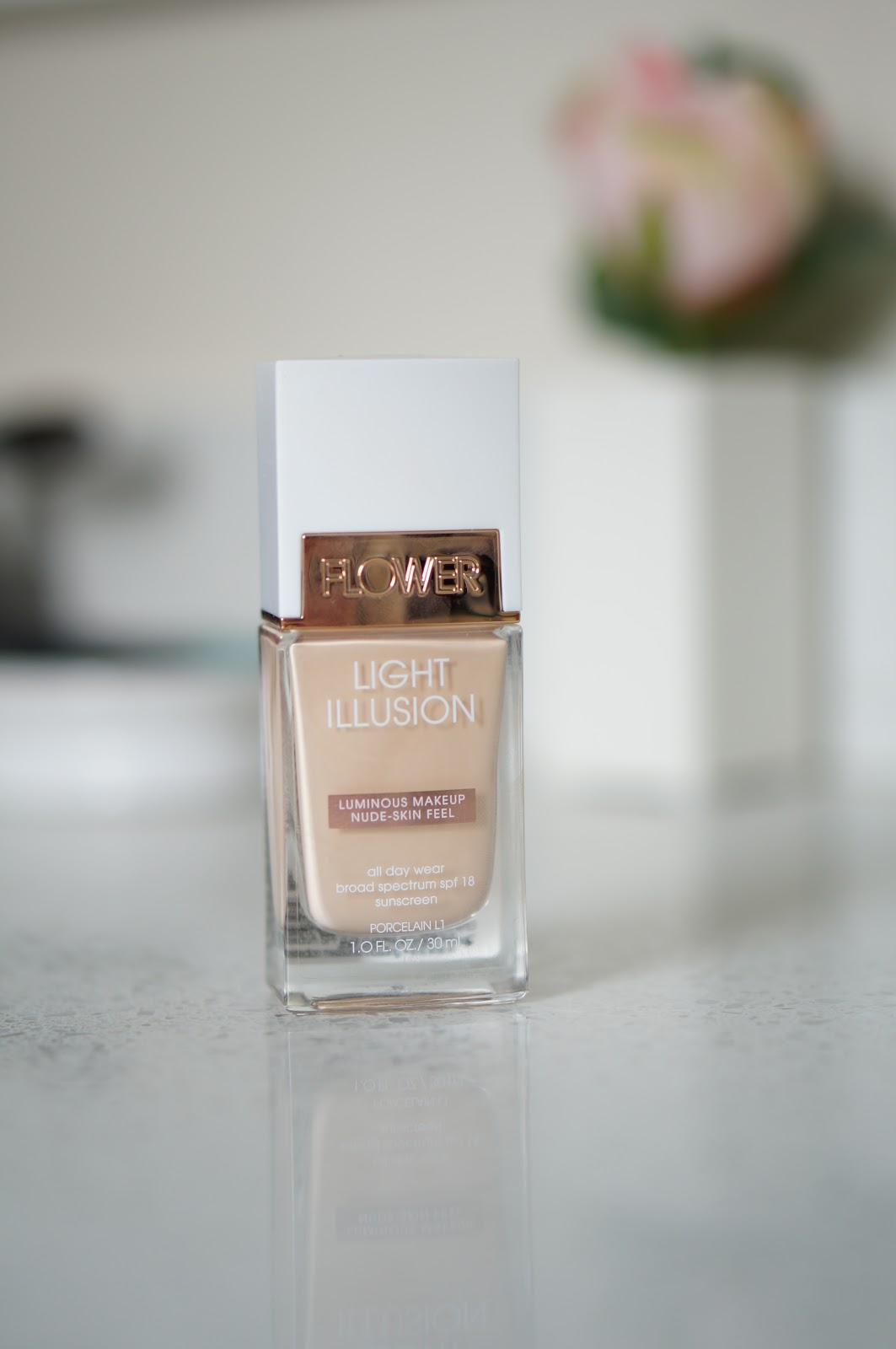 Popular North Carolina style blogger Rebecca Lately shares her review of Flower Beauty Light Illusion Foundation.  Click here to read her thoughts!