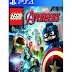 Lego Marvel Avengers Jogo PS4 PSN mídia digital