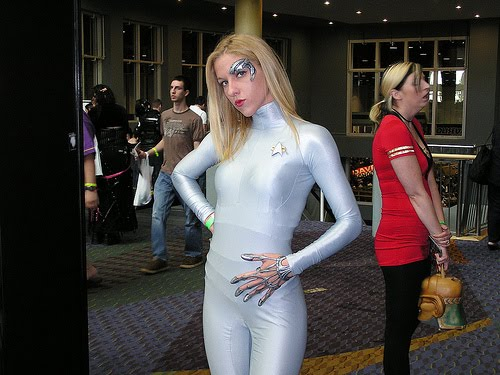 Star trek sexy cosplay