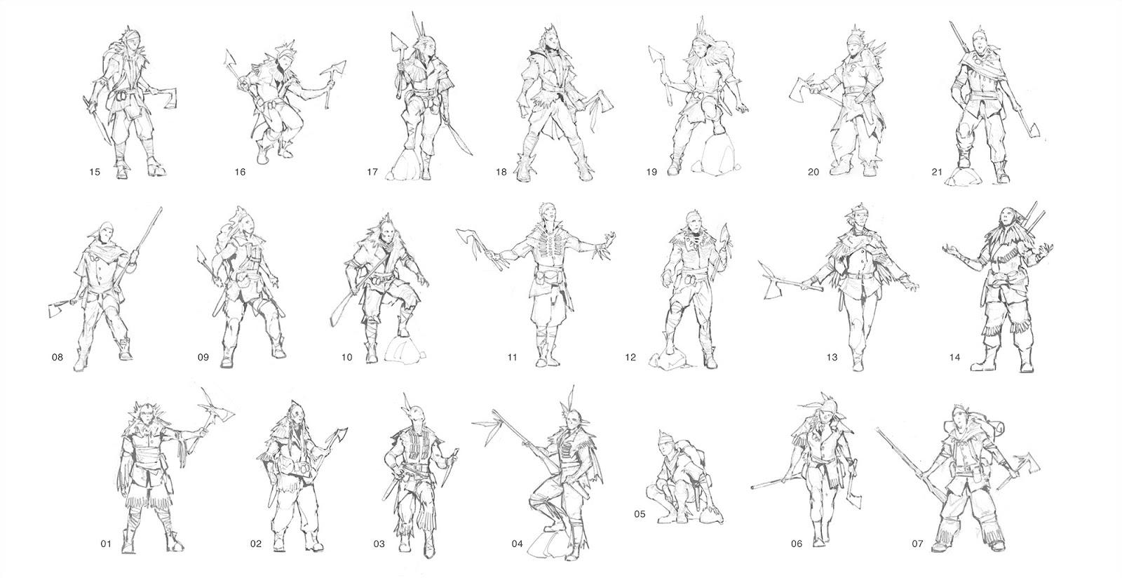 manga character template - bk studio
