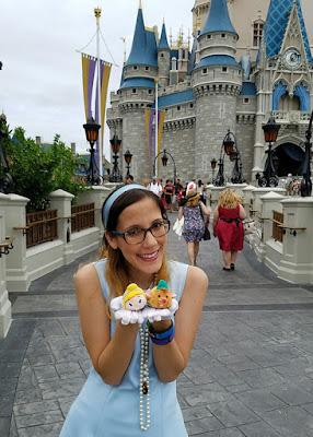 Cinderella Outfit and Tsum Tsum / Disneybound- Spring Dapper Day at Disney World 2016