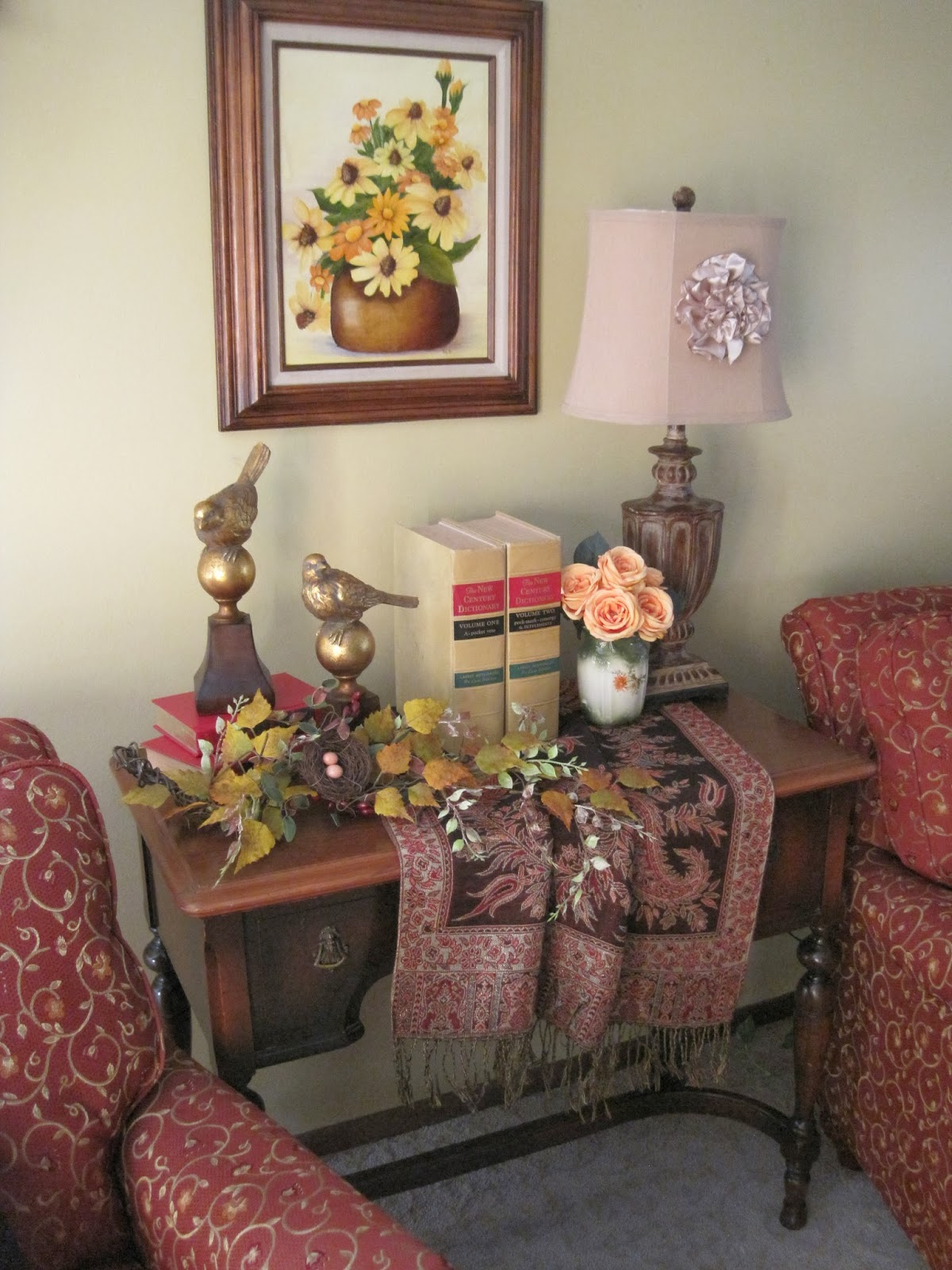 Amazing Living Room Cabinet Designs Antique Showcase Using: On Crooked Creektt: All Nature Sings
