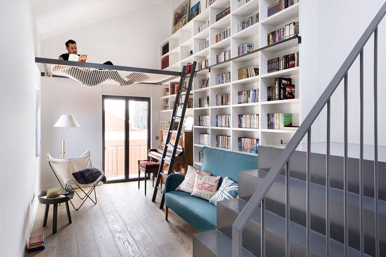 Una casa con muchos libros...