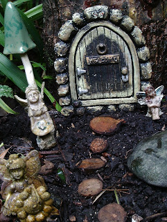 Fairy garden wooden stepping stone path, a simple DIY project, Green Fingered Blog
