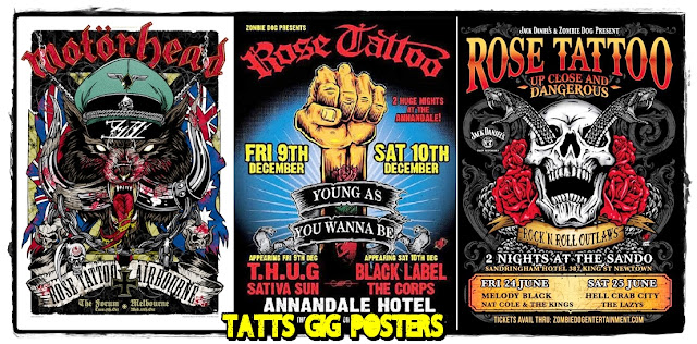 Reck N Roll Rose Tattoo Bad Boys And Nice Guys Of