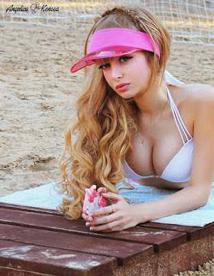 Russian Barbie Angelica sexy photos wiki