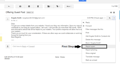 How can we stop or Block unwanted/useless mails in the Gmail