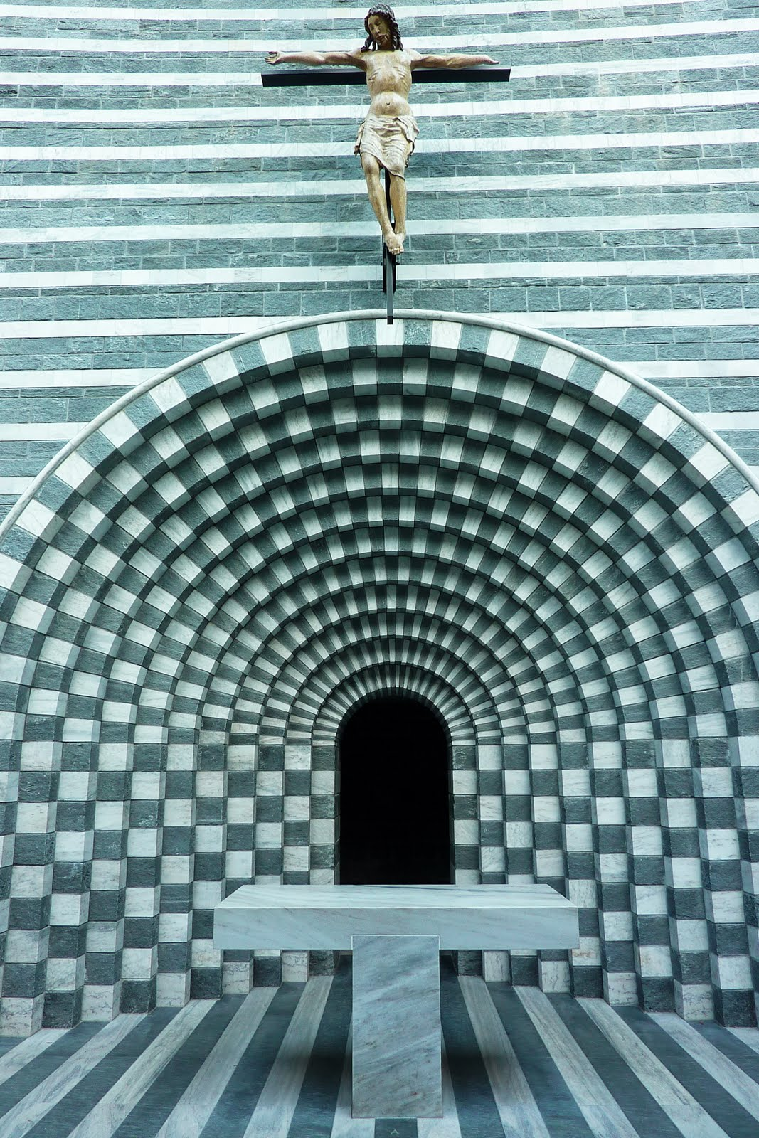 The Temples Of Consumption Mario Botta Church Of St Joh