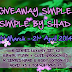 Giveaway Simple-Simple by Shad