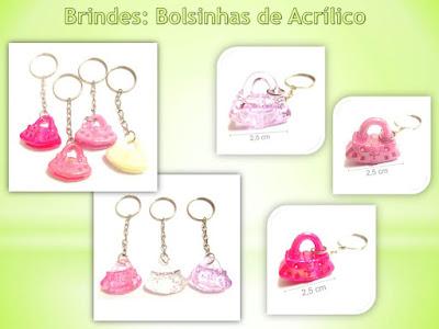 Brindes Baratos, Bolsinhas de Acrílico!