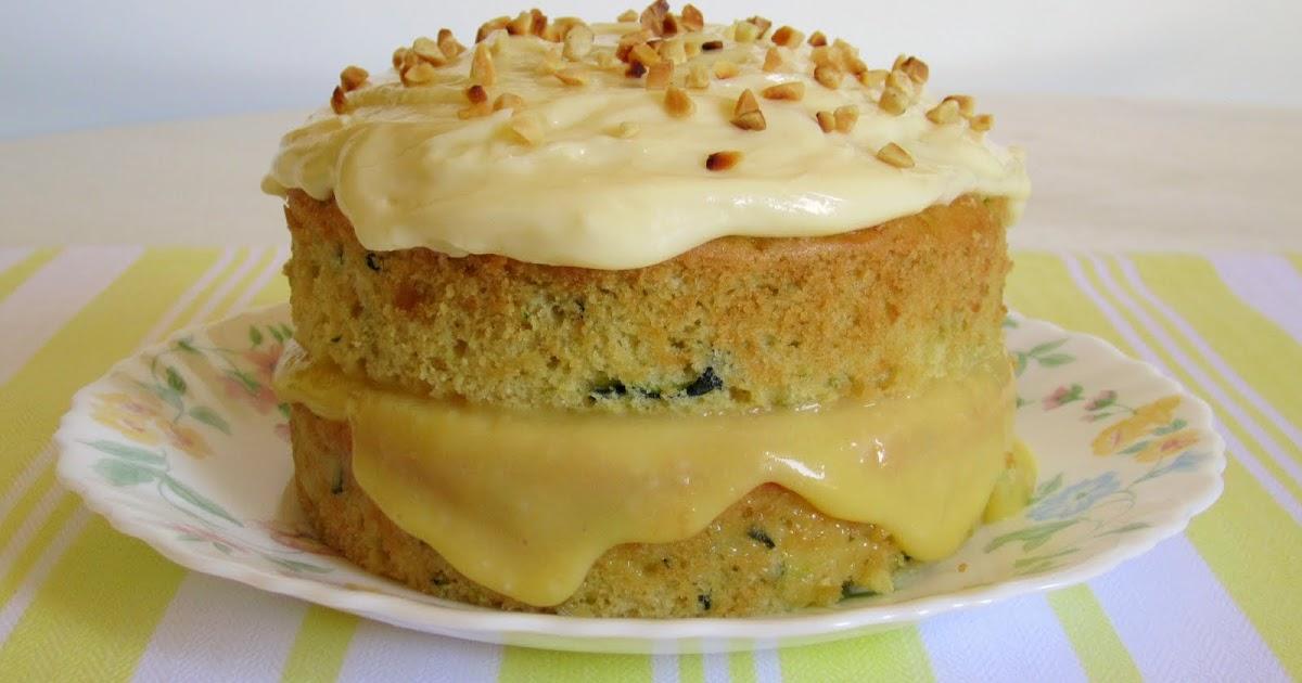 Floras Famous Courgette Cake