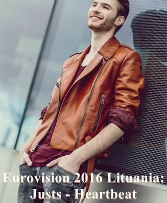 wiki lituania eurovision 2016 Justs - Heartbeat