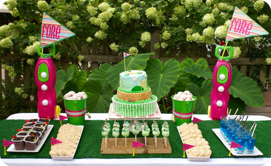 A Party Style Fore Golf