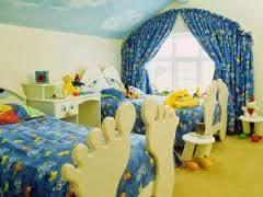 kamar desain anak kembar