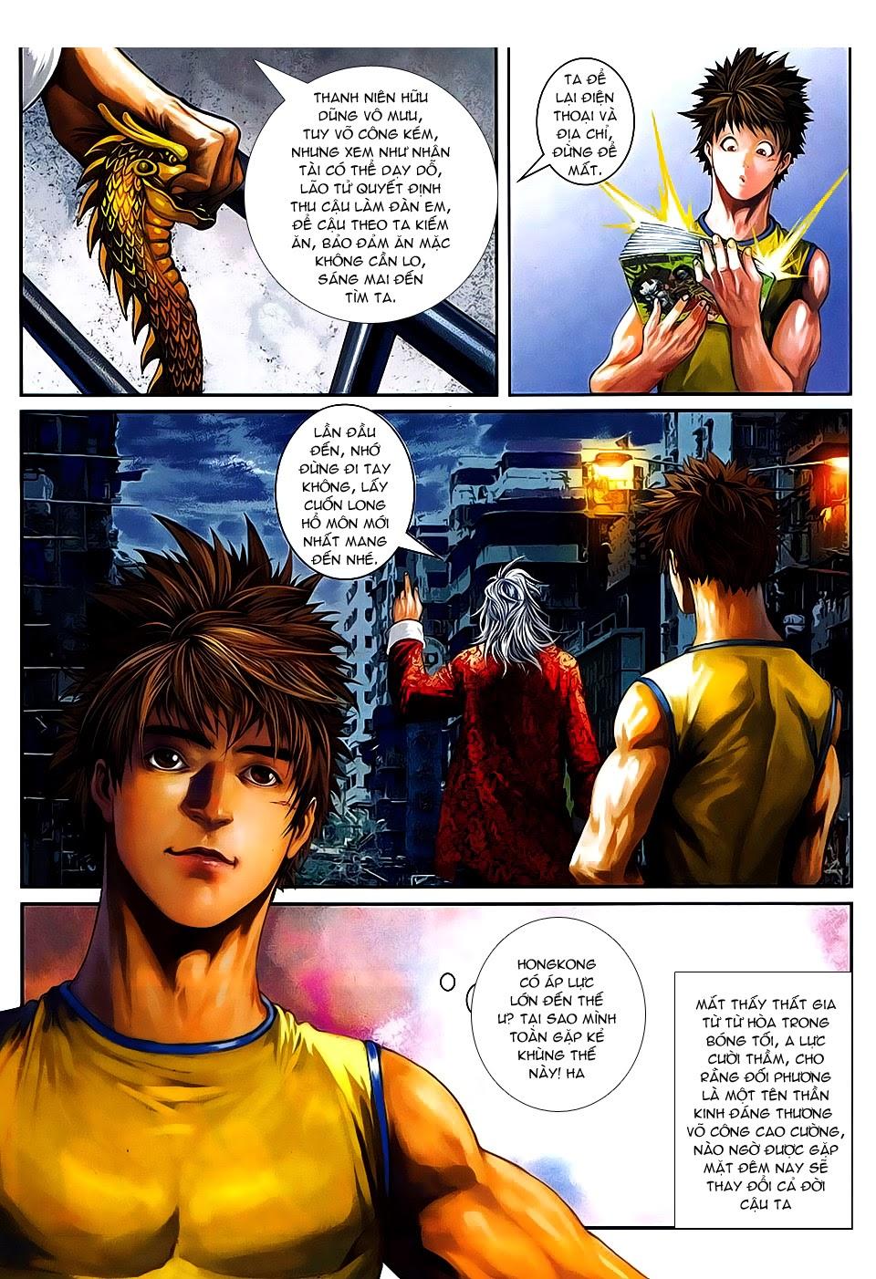 Quyền Đạo chapter 7 trang 19