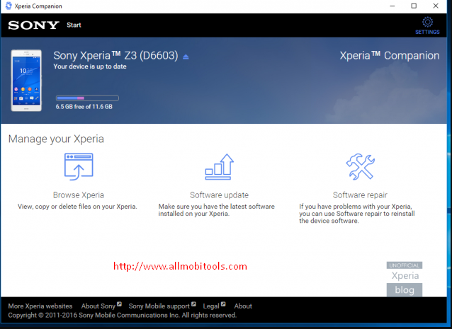 Download Xperia Companion Latest Version For Windows & Mac