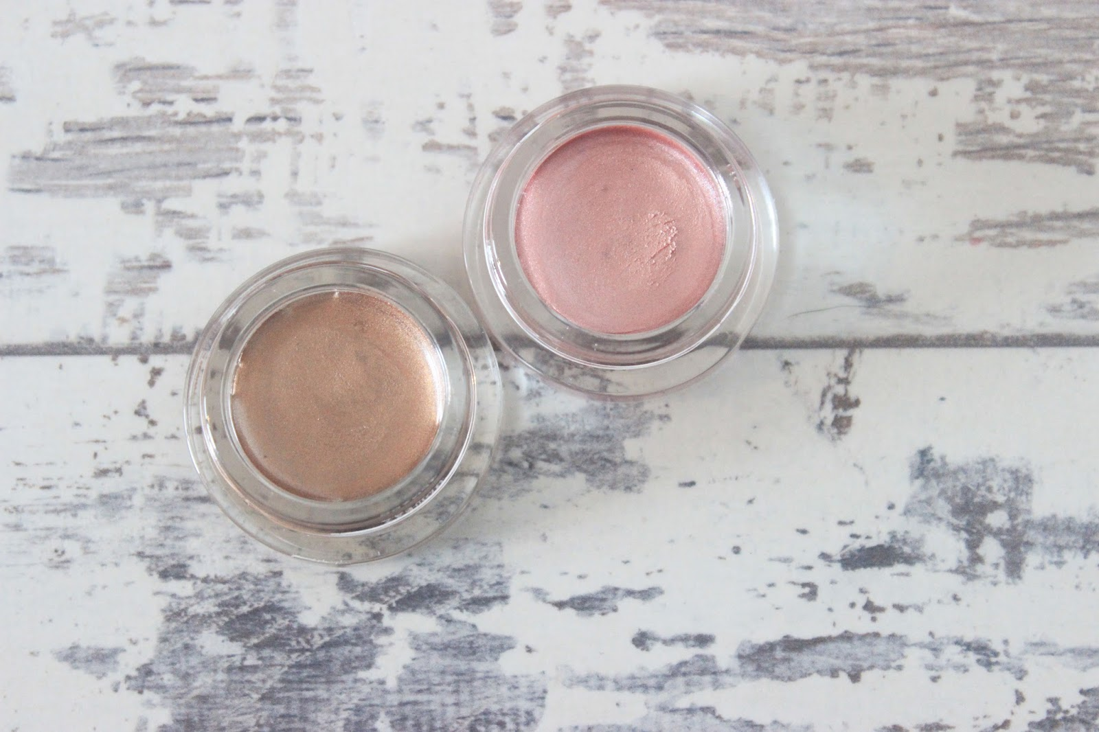 Maybelline Colour 24 Tattoo Cream Eyeshadows, Pink Gold, On and On Bronze