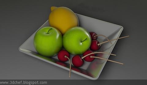 fruits 3d model free