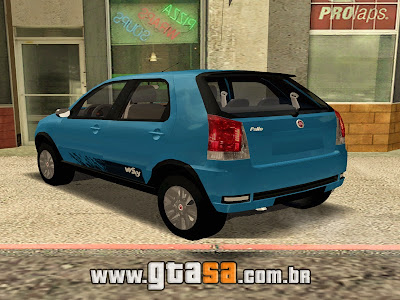 Fiat Palio Way 2015 para GTA San Andreas