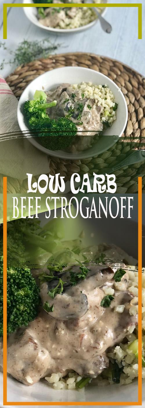 LOW CARB BEEF STROGANOFF RECIPE