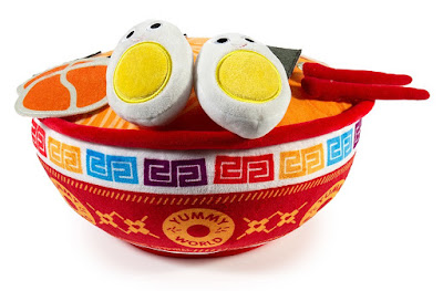 Kidrobot Yummy World Nicole the Ramen Bowl Plush