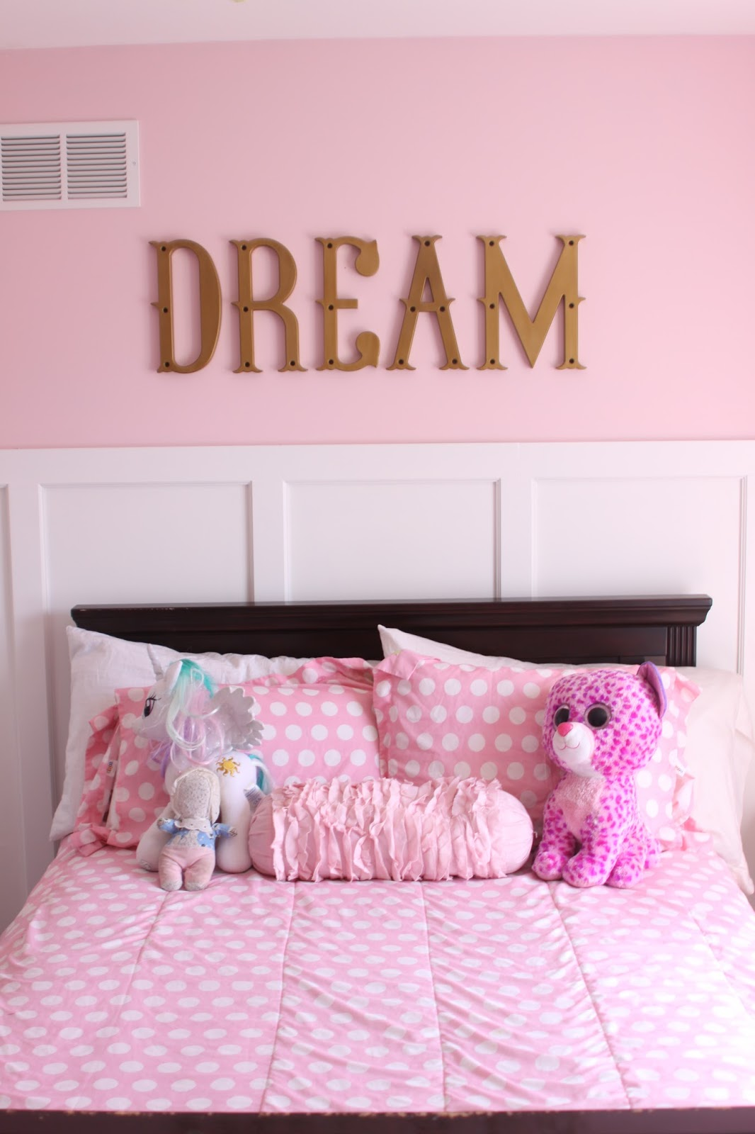 Fabulous Her crib turned into a full sized bed and so we are working with this until Rob builds Wynn us dream bunk bed The forter set is from Target