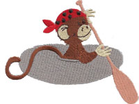 https://www.embroiderydesignsfreedownload.com/2018/04/little-monkey-pirate-with-his-kayak-canoe.html