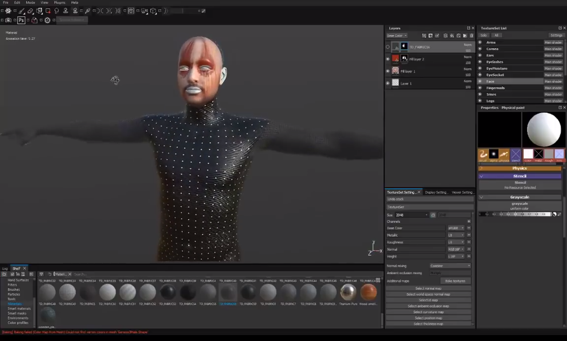 Painting Daz Models With Substance Painter | CG TUTORIAL