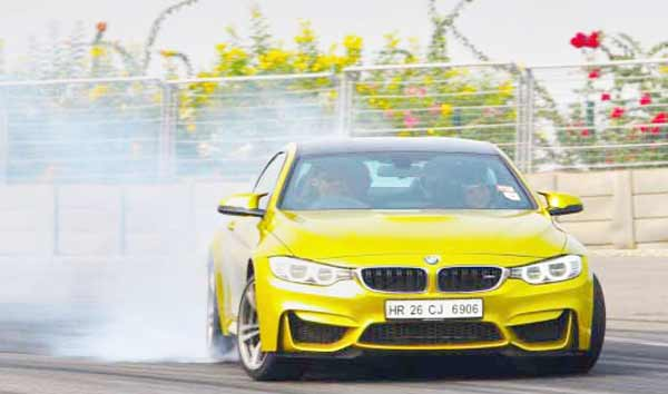 2016 BMW M performance training in India