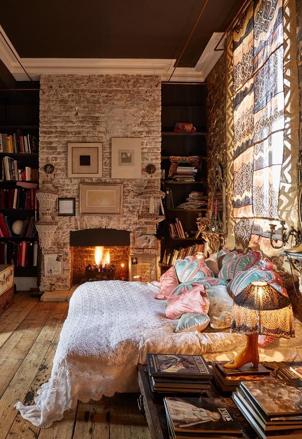 decordemon: The Boho-Glam apartment of interior designer ...