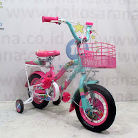 12 pacitic powerpuff sepeda anak