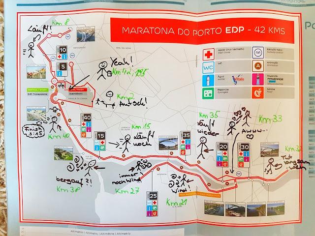 Porto Marathon 2017 Karte  maratona do porto