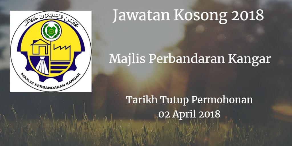Jawatan Kosong MPKangar 02 April 2018