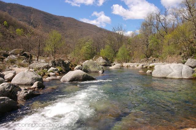 Valle del Jerte rios cascadas