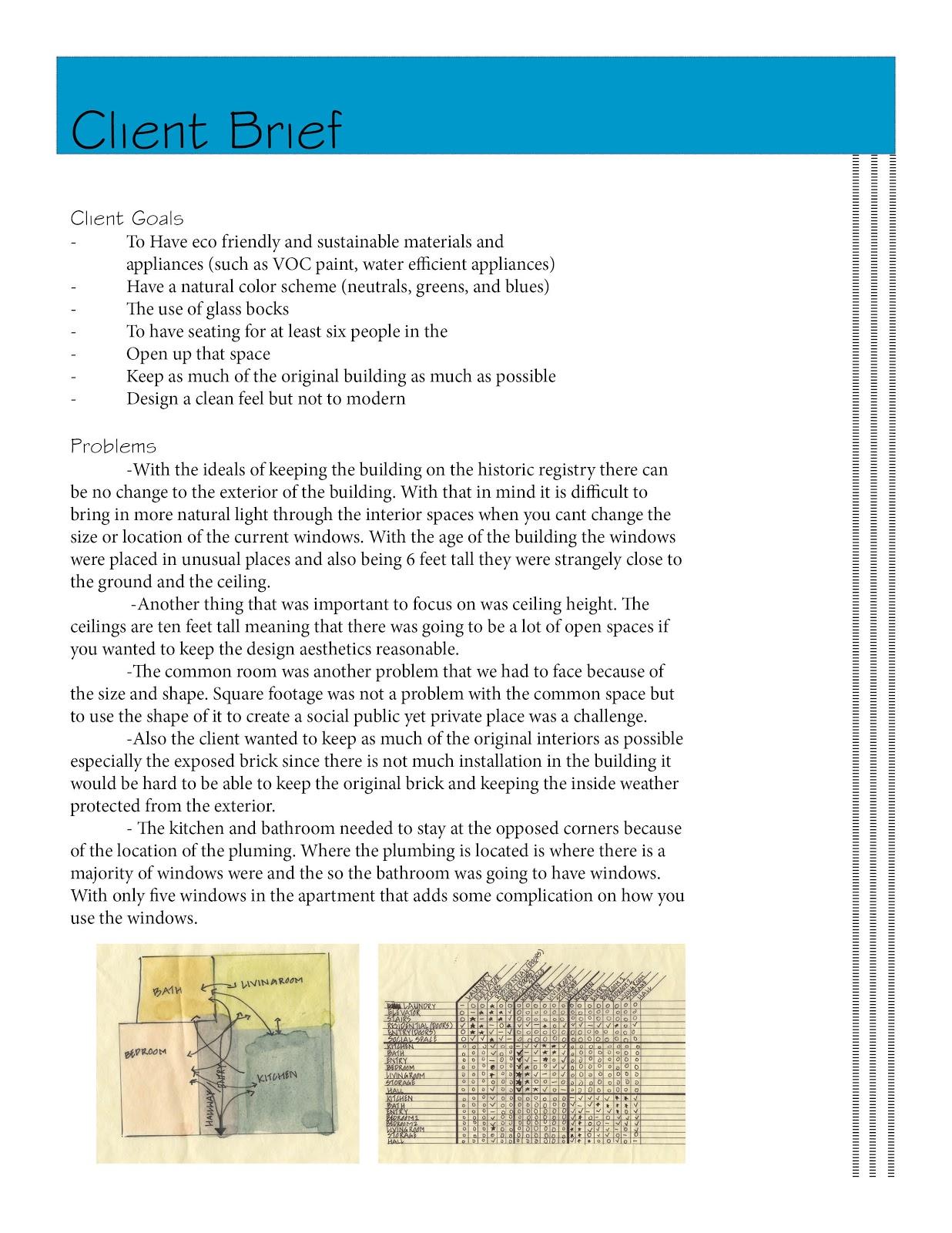 Interior Design Client Questionnaire Examples