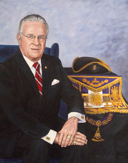 M.W. Richard J. Stewart. Past Grand Master. Grand Lodge of Massachusetts. by Travis Simpkins