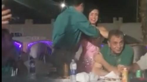 نقوط الراقصة يحيل مدير مطار شرم الشيخ للمكوث في البيت
