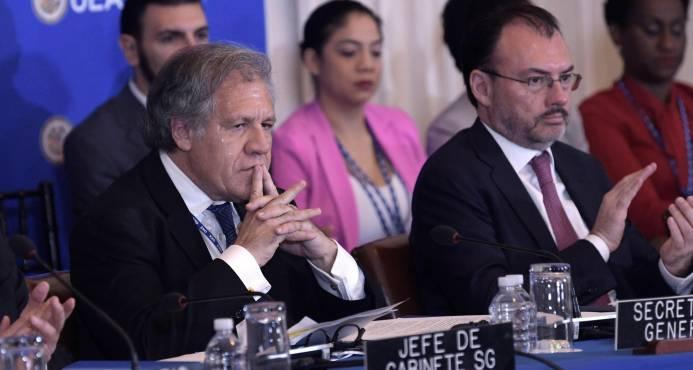 En primer día de la sesión de la OEA, países condenan al gobierno de Nicolás Maduro