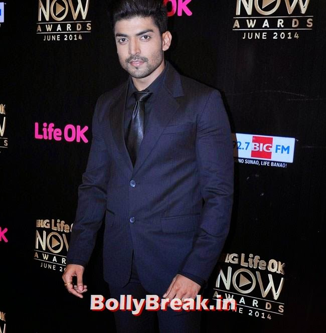 Gurmeet Choudhary, Life OK Now Awards 2014 Red Carpet Pics