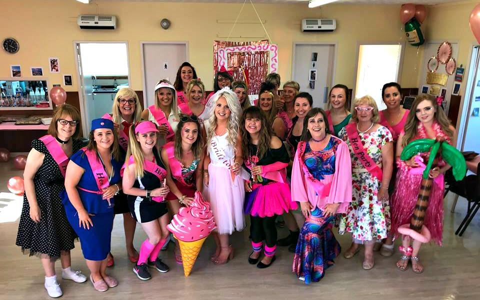 Hen Party Barbie Theme Jenna Suth