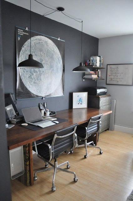 домашний офис для двоих