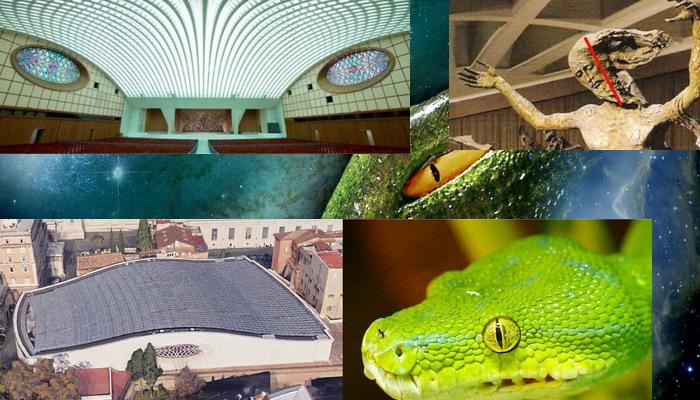 Los secretos oscuros detrás del auditorio del Papa (es un edificio reptiliano)