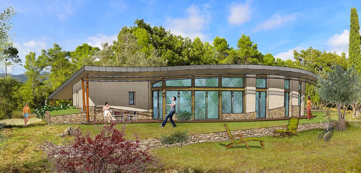 Plan Maison Bioclimatique Plain Pied