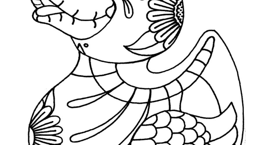 Yucca Flats N M Wenchkin S Coloring Pages Rubber Duckie