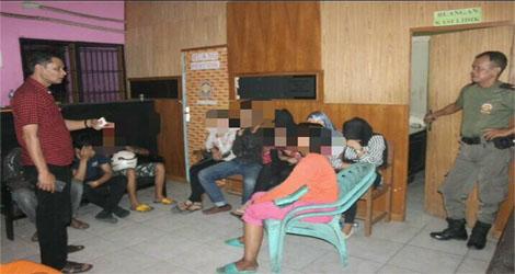 Yadrison. 5 Pasang Muda Mudi Di Diduga Mesum, Pondok Baremoh